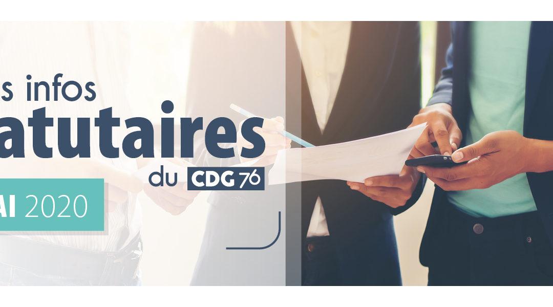INFOS CDG : Retrouvez le dernier numéro (mai 2020)