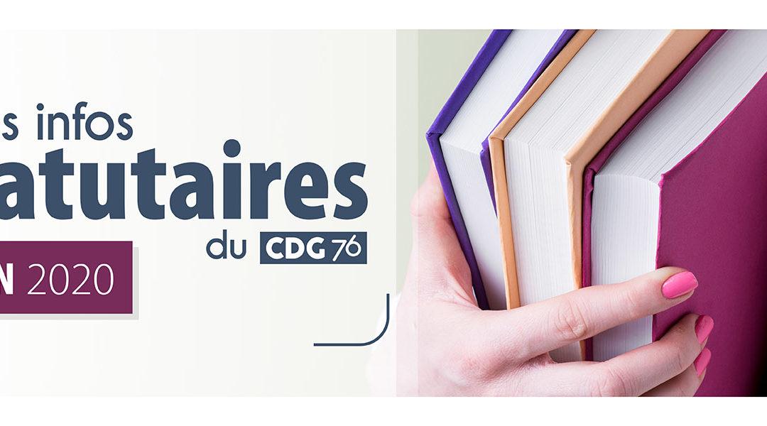 INFOS CDG : Retrouvez le dernier numéro (juin 2020)