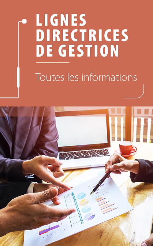 Lignes directrices de gestion : webinaires et guide pratique
