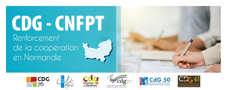 Renforcement de la coopération entre les Centres de Gestion normands et la Délégation Normandie du CNFPT