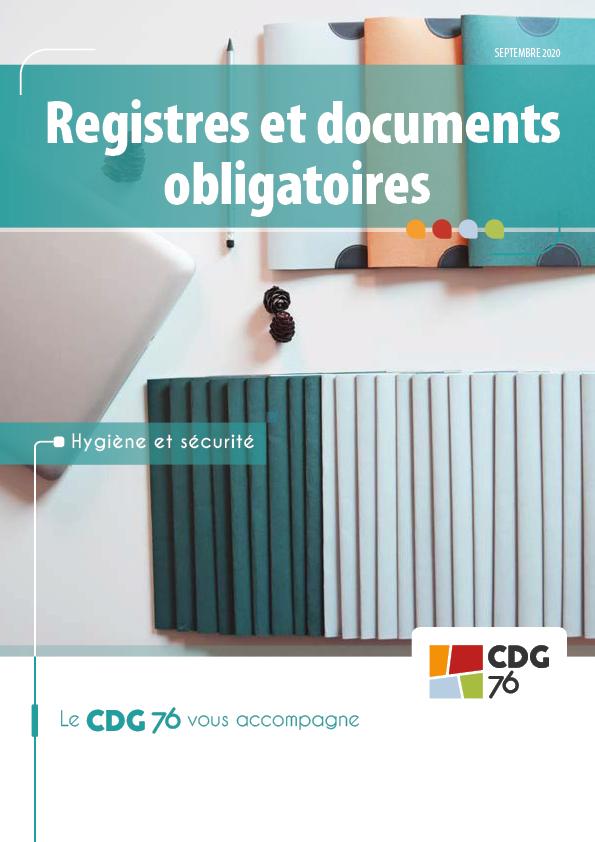 registres et documents obligatoires
